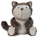 Nici 39028 - Katze Lazy grau 45cm Schlenker 001