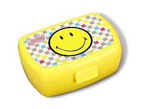 Nici 40334 - Brotdose Smiley 17x12x6,8cm – Bild 1