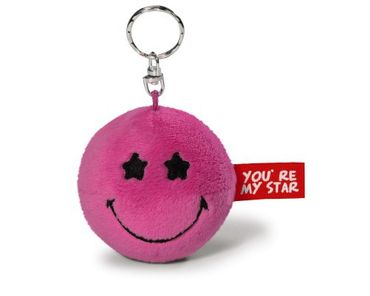 Nici 36728 - Nici Bb SA 6 cm Smiley pink - Youre my Star