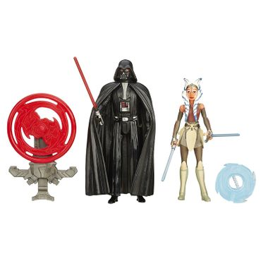 Hasbro B3959 - Star Wars Rebels 3.75-inch Space Mission Darth Vader und Ahsoka Tano Figur – Bild 1