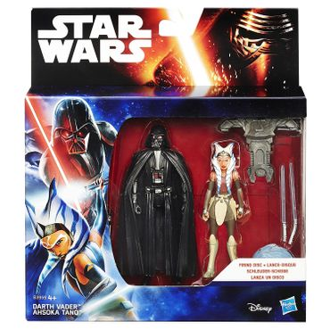 Hasbro B3959 - Star Wars Rebels 3.75-inch Space Mission Darth Vader und Ahsoka Tano Figur – Bild 2