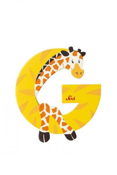 Buchstabe G Giraffe