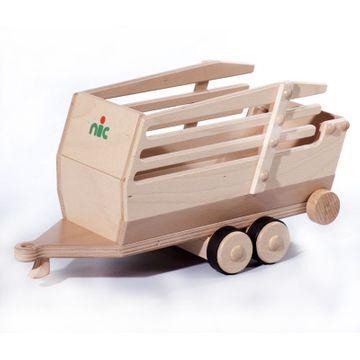NIC Creamobil Anhänger Ladewagen