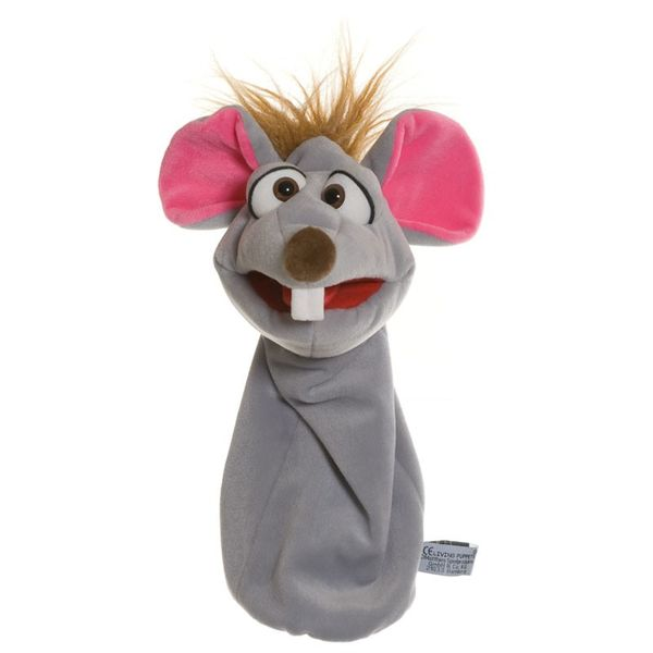 Handpuppe Quasselwurm Bille die Maus