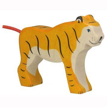 Holztiger Holzfigur Tiger