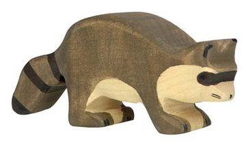 Holztiger Holzfigur Waschbär