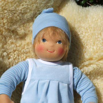 Heidi Hilscher Babypuppe klein versch. Farben
