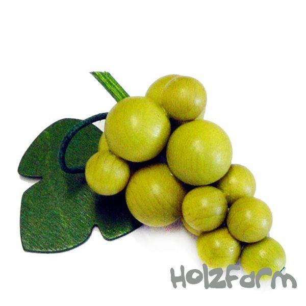 Kaufmannsladenzubehör Weintraube, grün