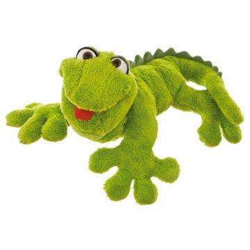 Handpuppe kleiner Gecko