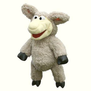 Handpuppe Sesamstraße Schaf Wolle