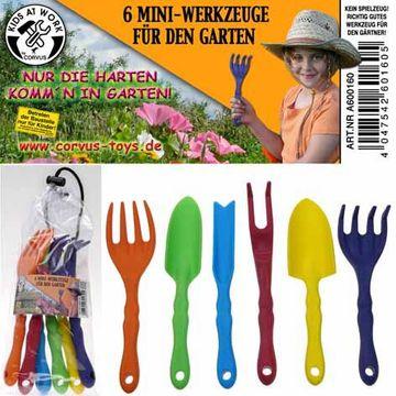 Corvus Kinderwerkzeug Mini Gartenwerkzeuge