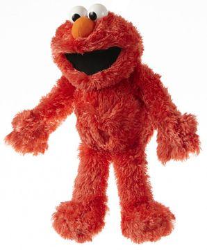 Handpuppe Sesamstraße Elmo klein