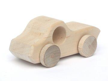 ECO Holzautos von Schaukeltier - ein Unikat aus bester Handarbeit