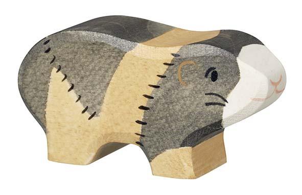 Holztiger Holzfigur Meerschweinchen