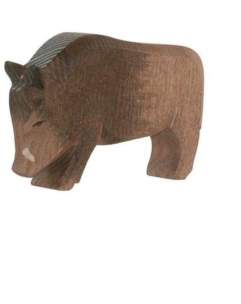 Ostheimer Holzfigur Wildschwein Keiler