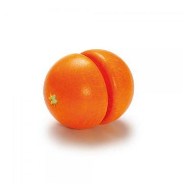Kinderküchen Zubehör Orange zum Schneiden