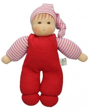 Nanchen Puppe Wuschel rot