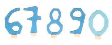 Grimms Zahlenstecker-Set 6-9 & 0 versch. Farben