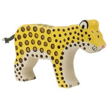 Holztiger Holzfigur Leopard