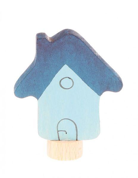 Grimms Stecker Haus, blau