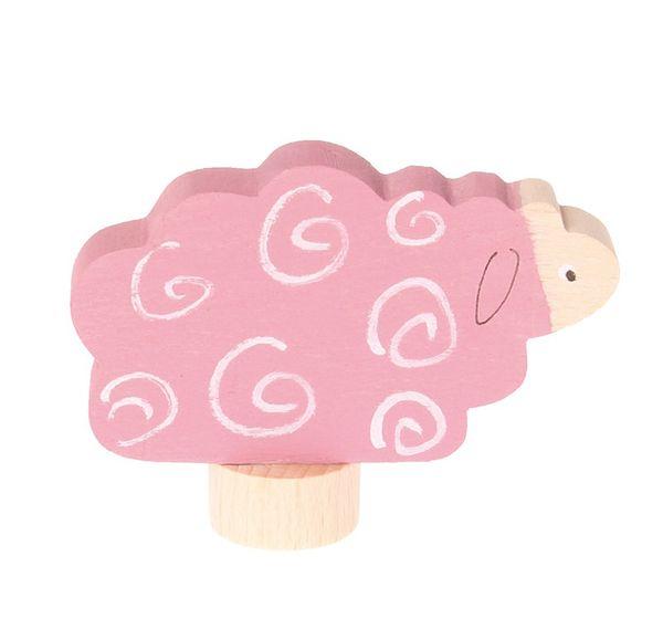 Grimms Stecker Schaf, rosa