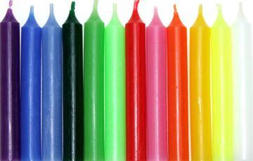 AHS Baumkerze versch. Farben
