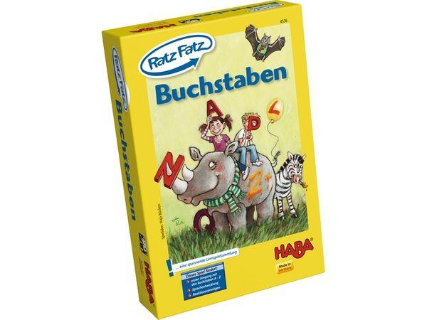 HABA Spiel Ratz Fatz Buchstaben