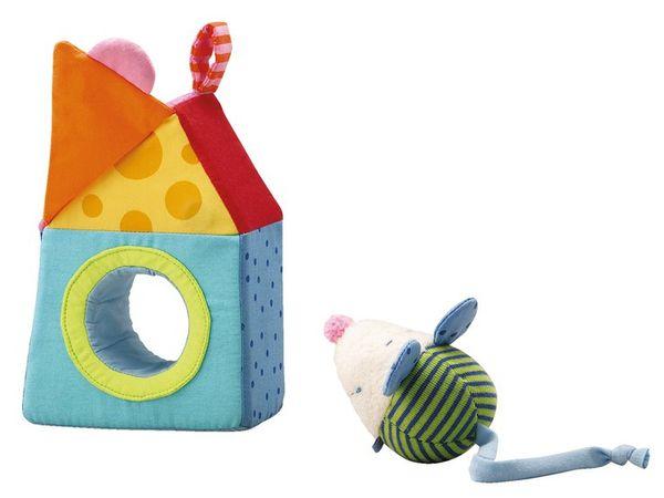 HABA Greifling Maus im Haus