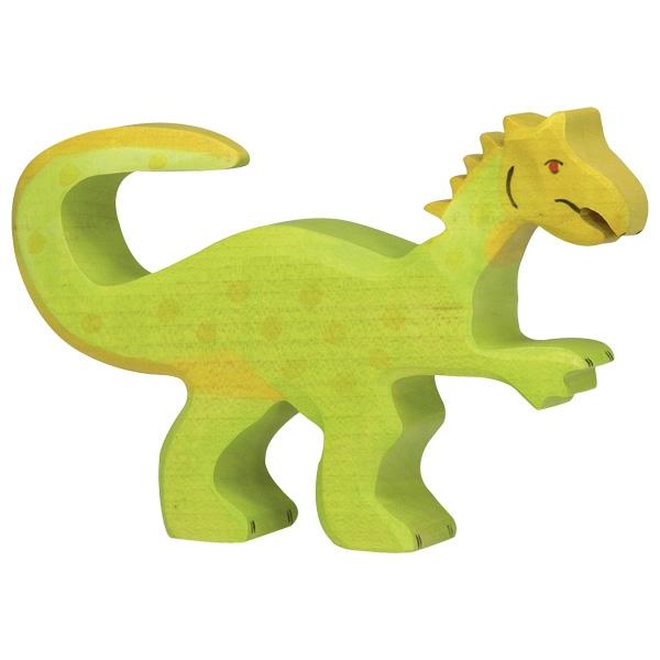 Holztiger Holzfigur Oviraptor