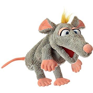 Handpuppe Schnurzpiepe die Ratte