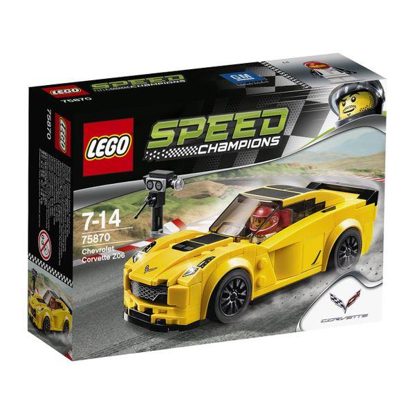 Lego Speed Champions Chevrolet Corvette Z06