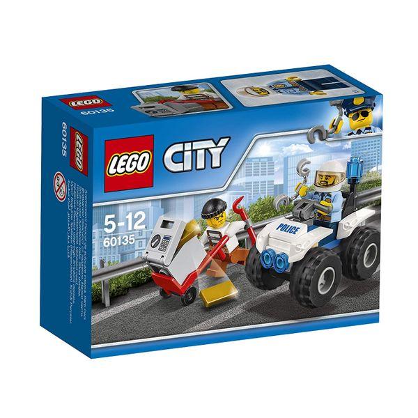 Lego City Gangsterjagt auf dem Quad