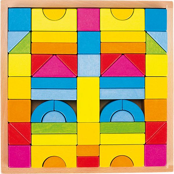 Goki Bausteine Regenbogenfarben