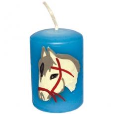 AHS Lebenslicht Pferd blau
