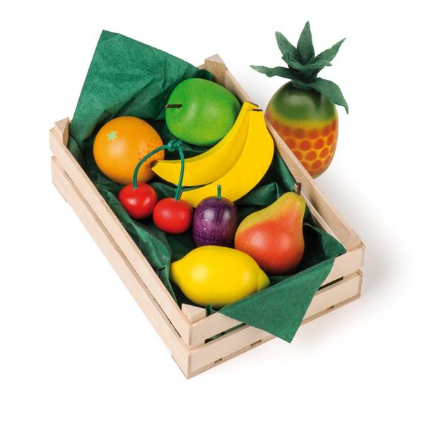 Erzi Kaufmannsladenzubehör Sortiment Obst