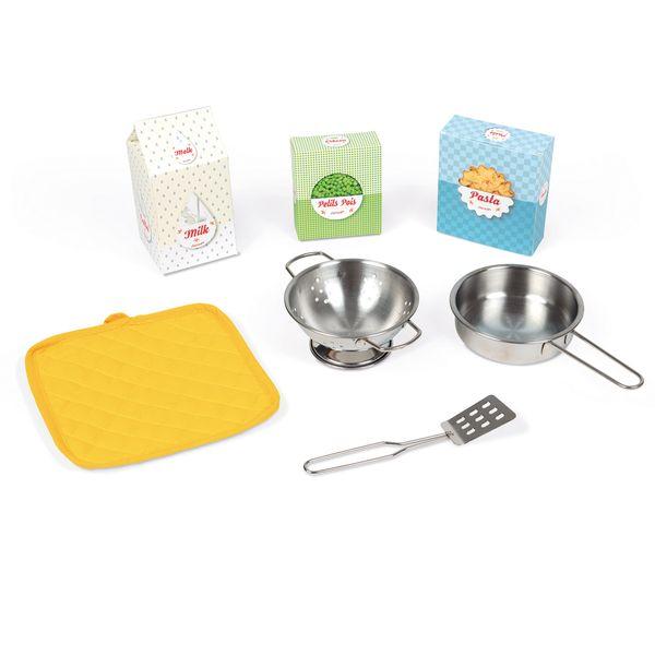 Janod Küche  Happy Day  mit Funktionen und Zubehör