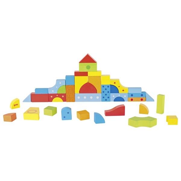 Goki Legespiel und Bausteinkasten