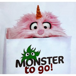 Living-Puppets Monster to go, Bonsche rosa
