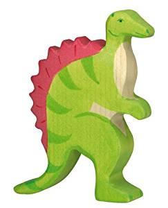Holztiger Holzfigur Spinosaurus