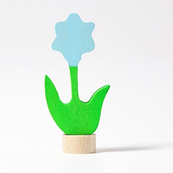 Grimms Stecker Blume, blau