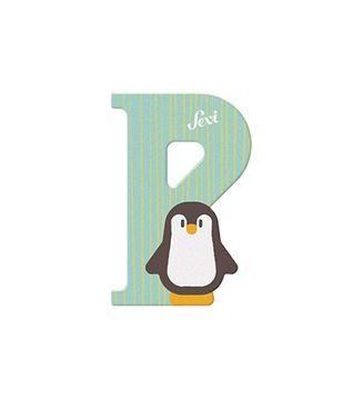 Sevi Buchstabe P Pinguin