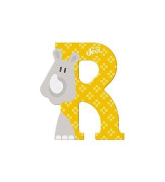 Sevi Buchstabe R Rhinozeros