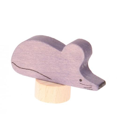 Grimms Stecker Maus, graulila