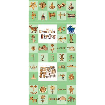 Magic Wood 70 Creative Blocks
