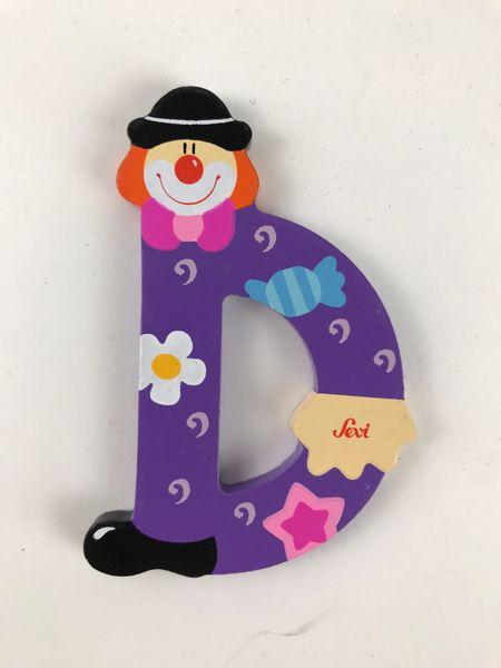 Sevi Buchstaben Clown D