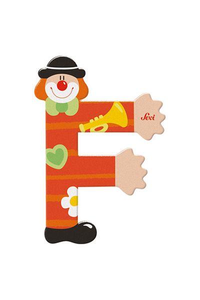 Sevi Buchstaben Clown F