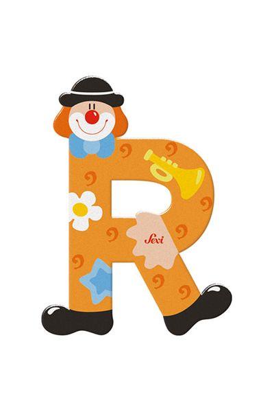 Sevi Buchstaben Clown R