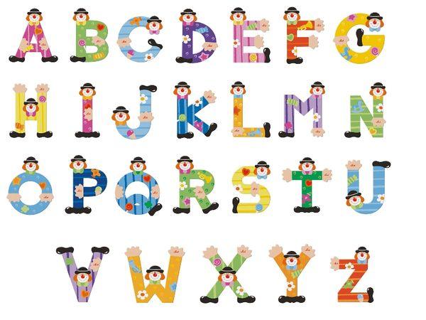 Sevi Buchstaben Clown S