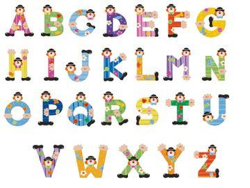 Sevi Buchstaben Clown T, dunkelgrün