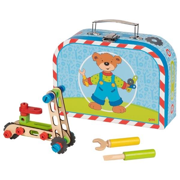 Fahrzeug-Baukasten im Koffer